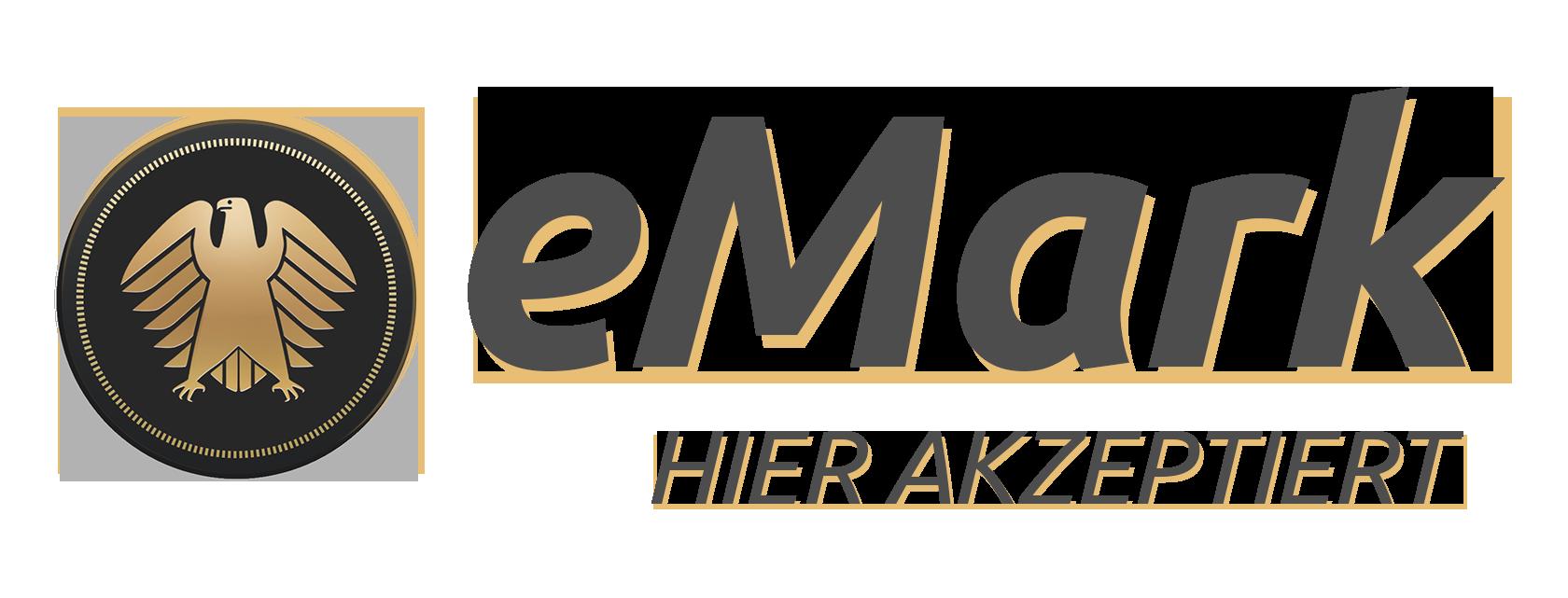 eMark hier akzeptiert ohne Hintergrund
